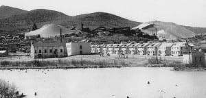 Lyon Mountain Village in 1948.