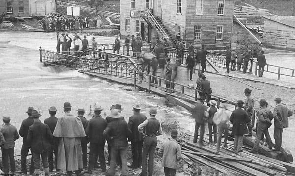 The Bloomingdale flood of 1892.