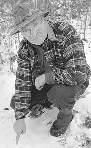 Peter O'Shea is a veteran animal tracker.
