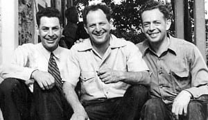 George, James and Bob Marshall in 1939, the year that Bob died.