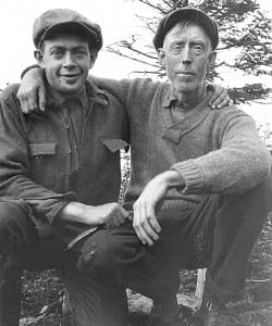 Bob Marshall and his trusty guide, Herb Clark,