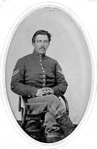 Elbert Johnson was a corporal in the Union Army.
