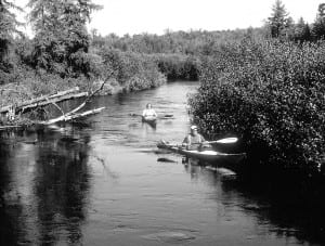 Paddlers delight in the intimate twists and turns of the upper Oswegatchie.
