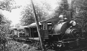 The Marion Carry Railroad was less than a mile long.