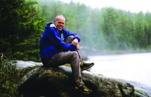Bill McKibben fell in love with nature after a visit to the Adirondacks.