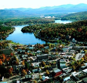 Saranac Lake is one of many towns along the Northern Forest Canoe Trail.