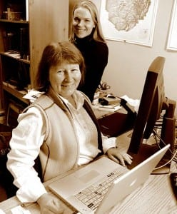 Authors Betsy Folwell and Annie Stoltie are editors at Adirondack Life.
