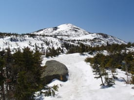 Mount Marcy in late April. Photo by Phil Brown.