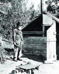 """Louis """"French Louie"""" Seymour, circa 1895."""
