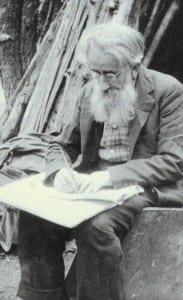 Noah John Rondeau often wrote in code.