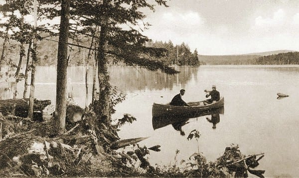 Tourists flocked to the Adirondacks in the late nineteenth century in search of wilderness adventures.