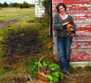 Kristin Kimball gave up life in the city to become a farmer.