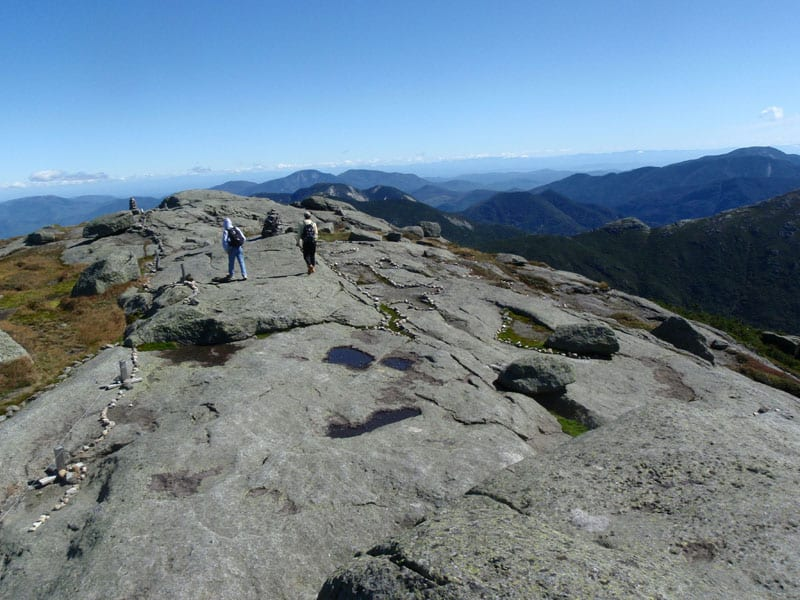 The summit of Mount Marcy. Photo by Phil Brown.