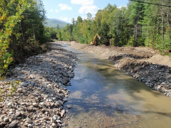 Roaring Brook in New Russia after its restoration. Photo from Adirondack Council.