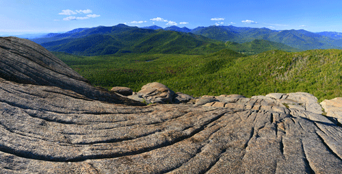 View from Hurricane Mountain. Photo by Johnathan Esper.