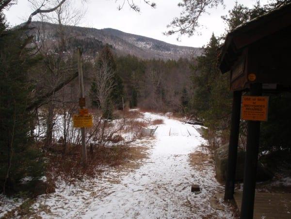 Marcy Dam Truck Trail.