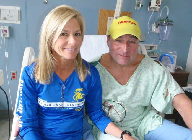 Jane and Steve Mastaitis at Adirondack Medical Center. Photo by Phil Brown.