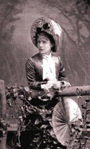Journalist Kate Field, shown in 1865, was a woman ahead of her time. Courtesy of the History Press