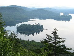 Lake Lila in the Adirondack Park