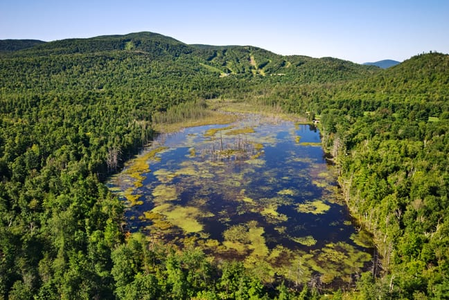 Adirondack Club and Resort aerial photo