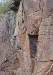 Baker Mount cliff