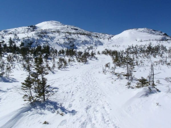 Mount Marcy on Saturday afternoon. Photo by Phil Brown.