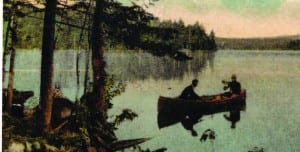 Cranberry Lake postcard Courtesy of Ted Comstock