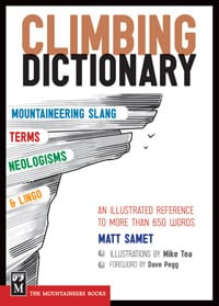 The Climbing Dictionary sells for $14.95.