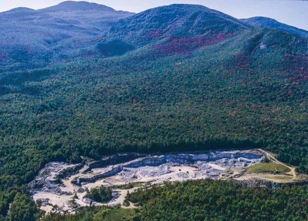 NYCO Minerals wants to expand its wollastonite mine into the Jay Mountain Wilderness. Photo by Nancie Battaglia