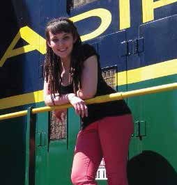 Bethan Maher is the executive director of the Adirondack Scenic Railroad.