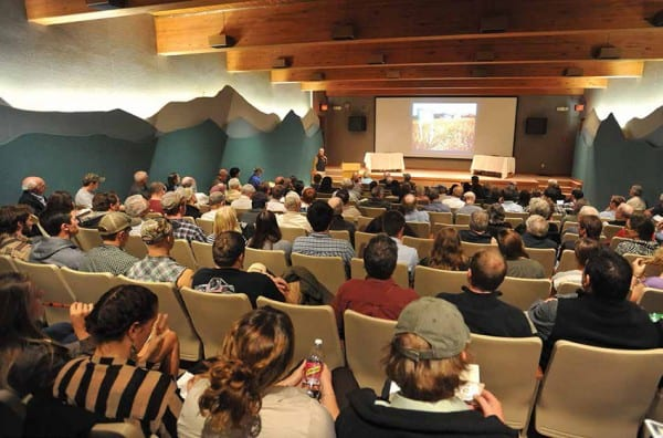 Over 150 people attended the Adirondack Explorer conference in Paul Smiths. Photo by Pat Hendrick