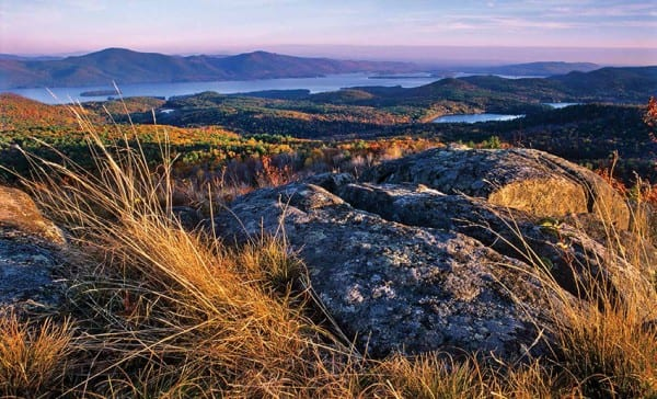 The summit of Cat Mountain offers a magnificent view of Lake George. Photos by Carl Heilman