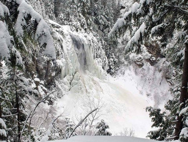 OK Slip Falls is one of the natural treasures receiving wilderness protection. Photo by Carl Heilman ll