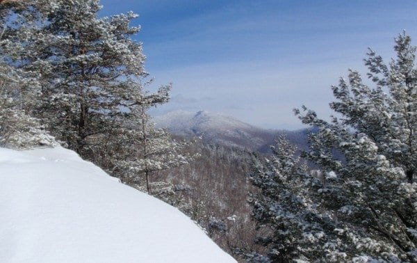 McKenzie Mountain seen from the shoulder of Baker Mountain. Photo by Phil Brown.