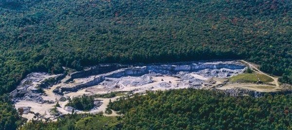 NYCO Minerals wants to extend its wollastonite mine onto land now in the Forest Preserve. Photo by Nancie Battaglia