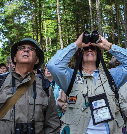 Birders and other recreationists contribute to the economy. Photo by Nancie Battaglia