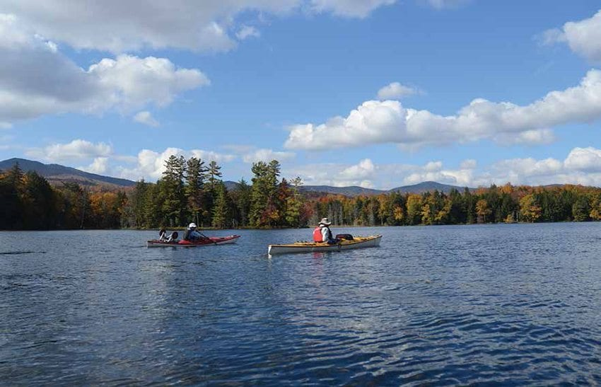 The state hopes the recently acquired Essex Chain Lakes will attract tourists. Photo by Susan Bibeau