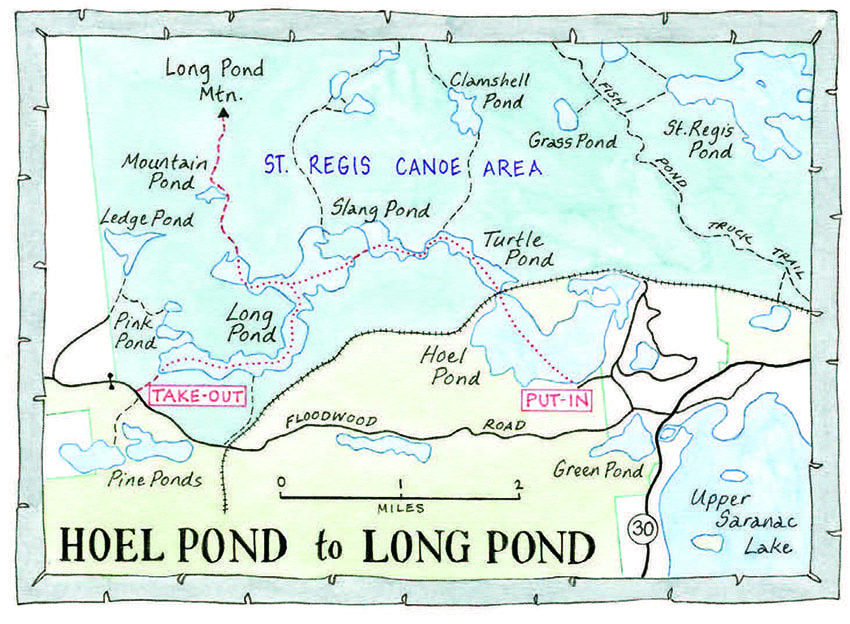 Map by Nancy Bernstein