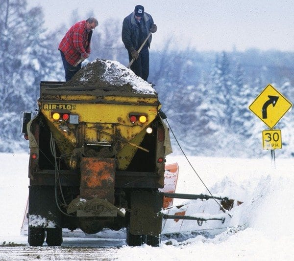 Experts are looking for ways to balance safe winter roads and environmental protection. Photo by Nancie Battaglia