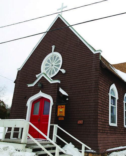 St. Paul's Church in Blue Mountain Lake