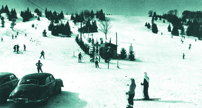 Fawn Ridge in Lake Placid opened to skiers in 1940.