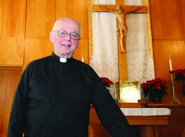The Reverend Philip Allen has served North Country churches for nearly six decades. Photo by Mike Lynch