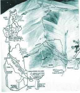 A brochure for the Whiteface Ski Center from circa 1950.
