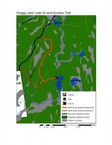 DEC Gregg Lake map