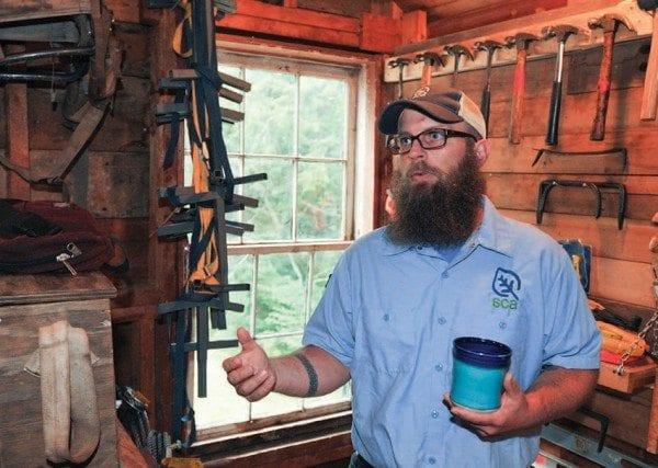 Jeremy Burns directs the Adirondack program of the Student Conservation Association. Photo by Pat Hendrick