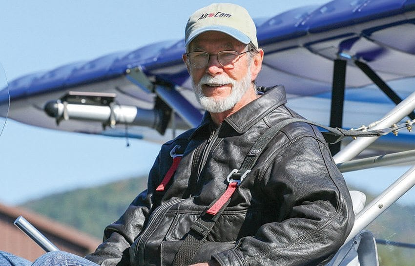 Ed McNeil flies researchers and photographers throughout the Adirondacks. Photo by Mike Lynch