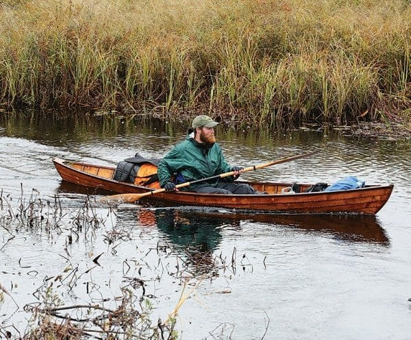 Madison's journey took him through about two hundred miles of waterways. Photo by Mike Lynch
