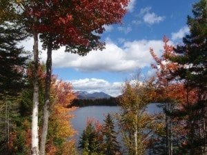 Boreas Ponds in Adirondacks