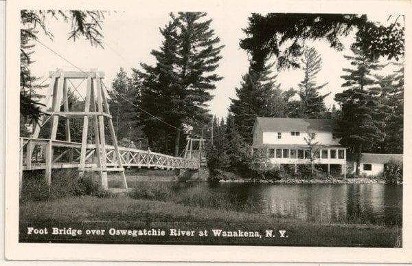 The Wanakena footbridge was a beloved landmark for 112 years.