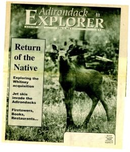 Our first issue: August 1998.